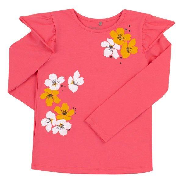 Koszulka bawełniana z długim rękawem BEMBI