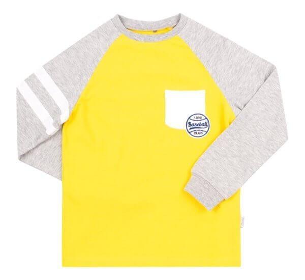 Bawełniana koszulka z kieszonką BEMBI