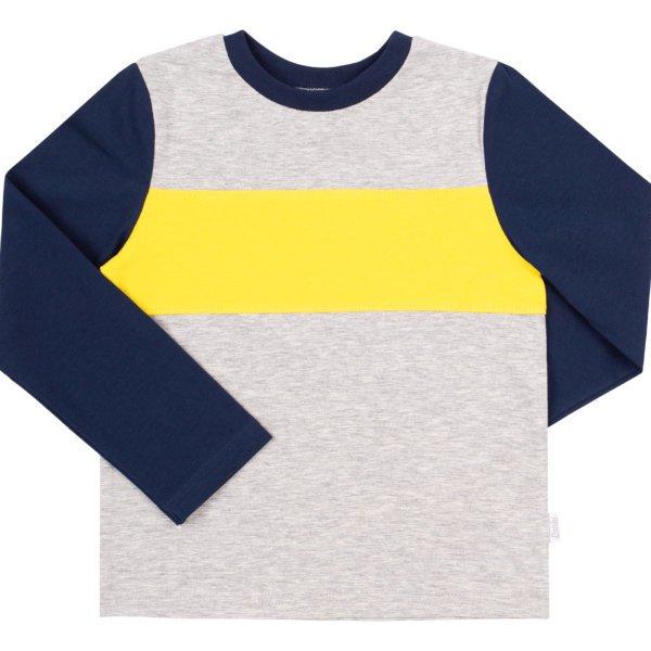 Koszulka z bawełny z długim rękawem BEMBI