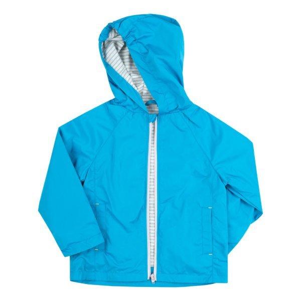 Niebieska kurtka z kapturem BEMBI