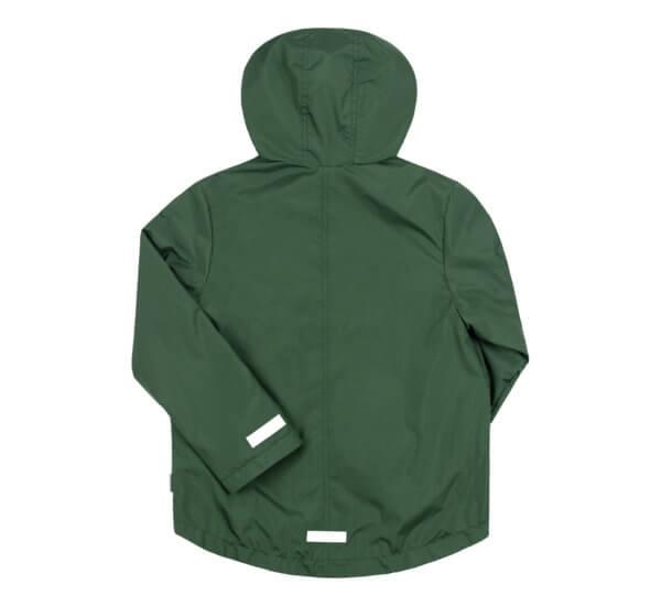 kurtka odblaskowa z kapturem i kieszeniami dla chłopca na jesień lub wiosnę