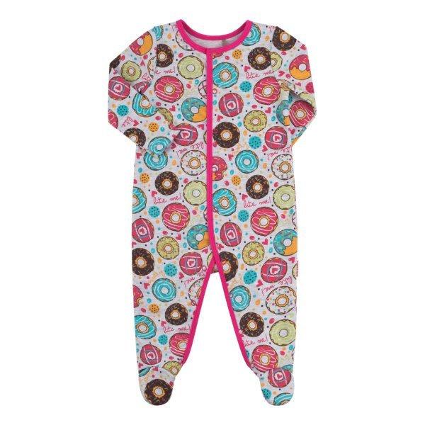 Pajacyk niemowlęcy bawełniany różne wzory Bembi KB128 kolekcja NEWBORN dla niemowląt