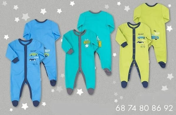 Pajacyk niemowlęcy bawełniany chłopięcy różne wzory i kolory dla chłopca Bembi KB130 kolekcja NEWBORN dla niemowląt