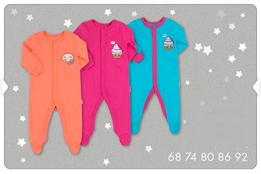 Pajacyk niemowlęcy bawełniany dziewczęcy różne wzory i kolory dla dziewczynki Bembi KB131 kolekcja NEWBORN dla niemowląt