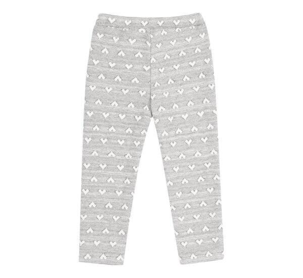 Spodnie w serduszka z kieszeniami BEMBI
