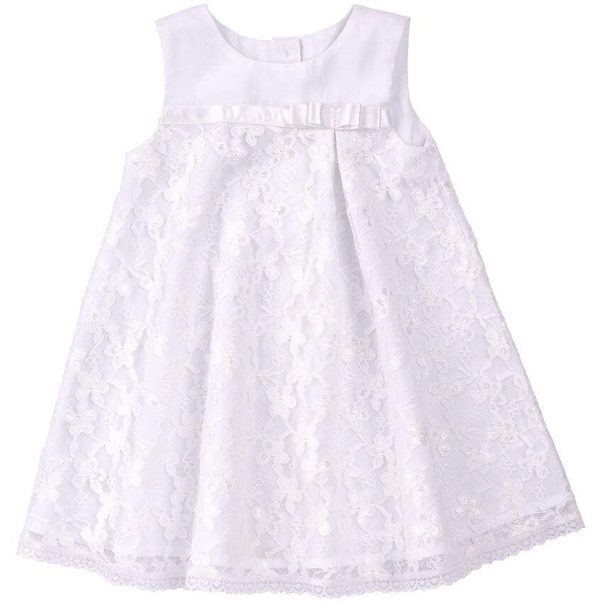 Sukienka-okolicznosciowa-biala-na-chrzest-z-koronka-i-kokardka-dla-dziewczynki-bembi-kolekcja-newborn-dla-niemowlat-PL199