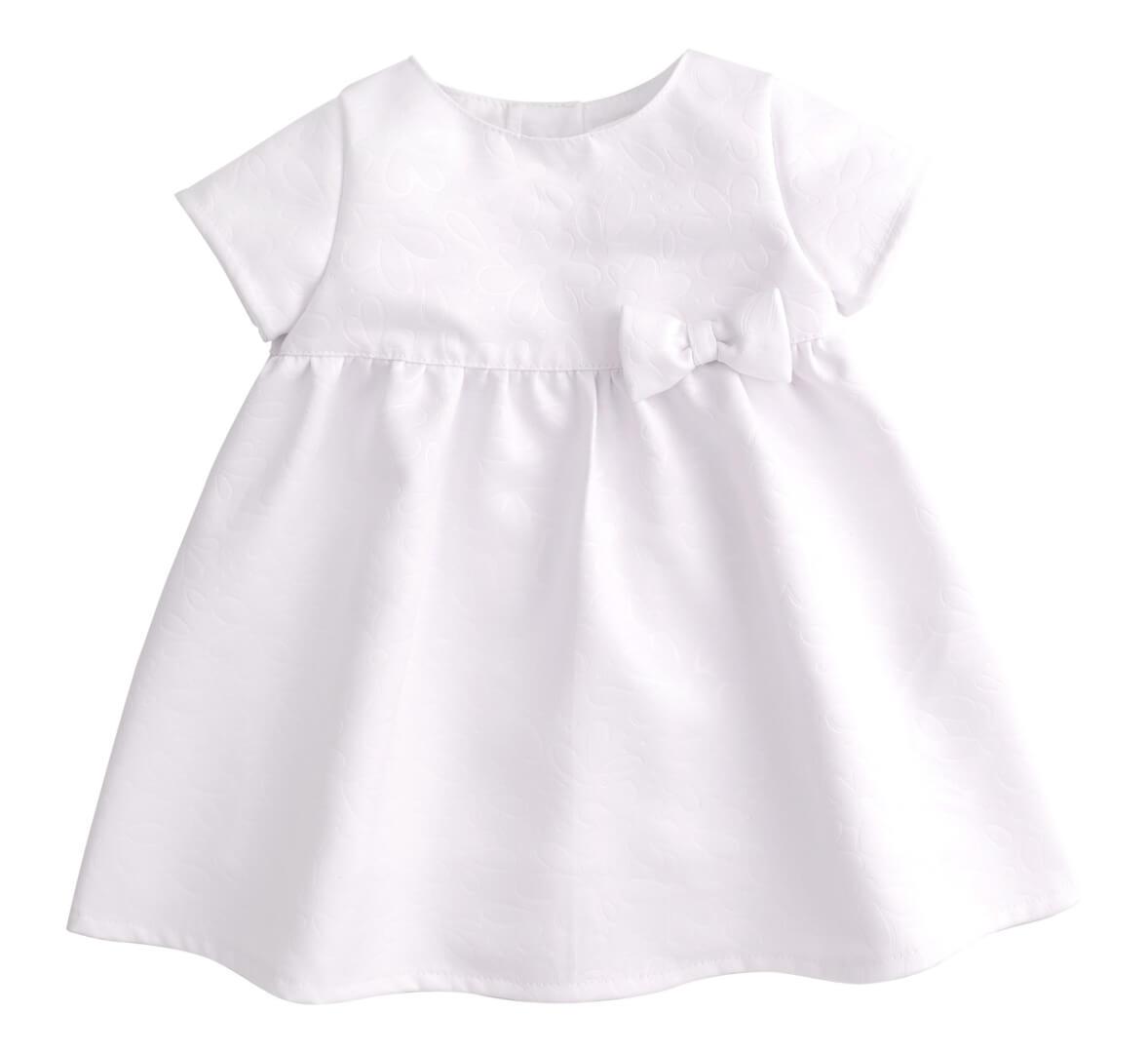 Sukienka-okolicznosciowa-biala-z-kokardka-na-chrzest-dla-dziewczynki-bembi-kolekcja-newborn-dla-niemowlat-PL253_01a