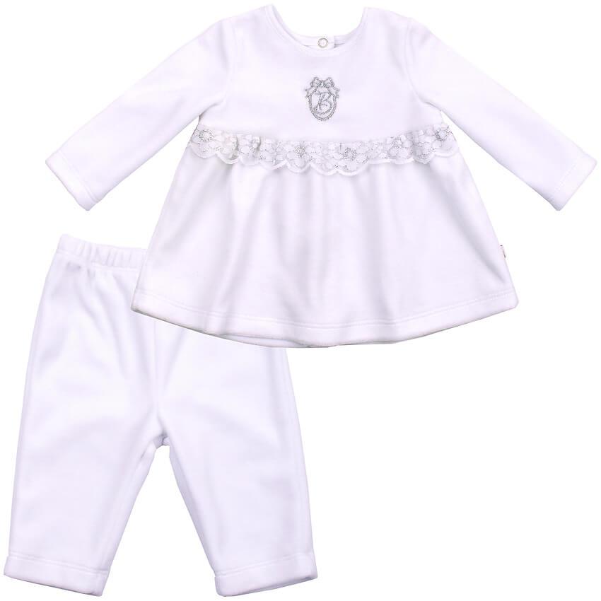 Ubranko-okolicznosciowe-komplet-welurowy-tunika-spodenki-bialy-chrzest-dla-dziewczynki-bembi-kolekcja-newborn-dla-niemowlat-KS525-18