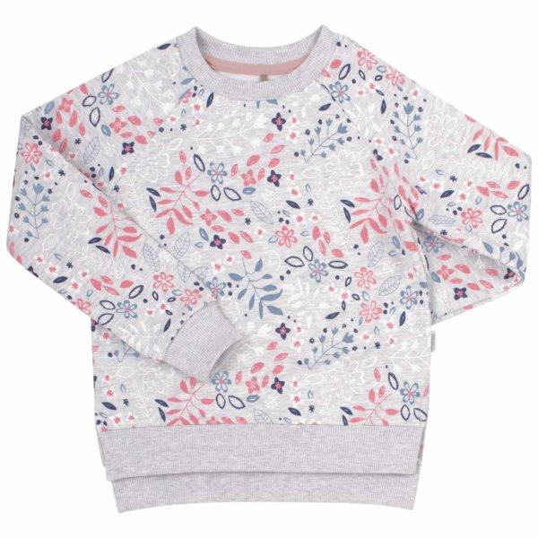 Bluza dla dziewczynki print jesień DJ 230