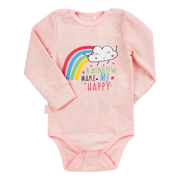 Body niemowlęce dla dziewczynki, bawełna 100% BEMBI BD155