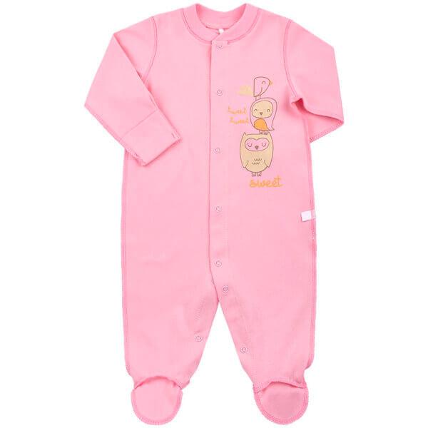 Pajacyk niemowlęcy bawełna newborn BEMBI KB4