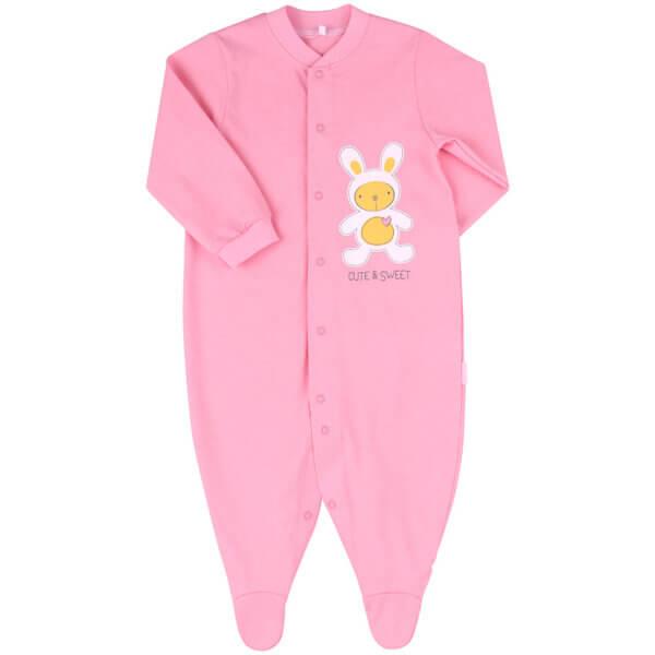Pajacyk niemowlęcy bawełna newborn BEMBI KB77
